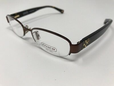 d468671e4367 NEW Authentic COACH HC 5030 Betsy 9076 Satin Brown 50mm RX Eyeglasses Z383