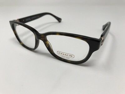 e309939bd12b COACH RX Eyeglasses New HC 6038 Amara 5001 Dark Tortoise 51mm AD56