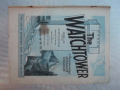 The Watchtower October 1 1954