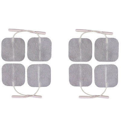 HYPOALLERGENIC 8 TENS ELECTRODES FOR SENSITIVE SKIN  Healthcare World Tens Pads