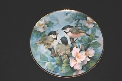 """Franklin Mint Bird Collector Plates- """"TreeTop Harmony"""" by Carol Shores Wright"""