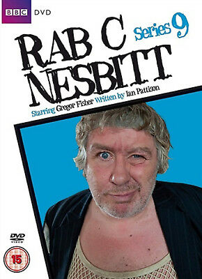 RAB C NESBITT COMPLETE SERIES 9 DVD Ninth Season Gregor Fisher Tony Roper New R2