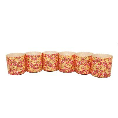 Russian Golden Ornaments, Baking Paper Pans