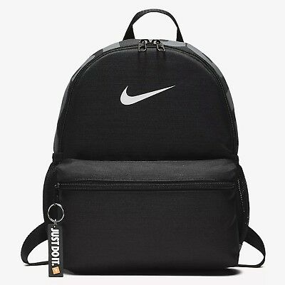 NIKE BRASILIA JUST DO IT NERO Zaino Mini Zainetto Scuola Palestra BA5559-010 4b4fbeb3b8ea