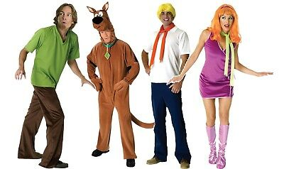 Scooby Doo And Gang Daphne Fred Scooby Doo Or Shaggy Adult Costume