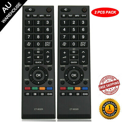 (2PC Pack)New Original Remote CT-90329 for Toshiba TV 42SL700A 32SL700A 26SL700A