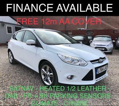 2015 Ford Focus 2.0 TDCi Titanium X Hatchback 5dr Diesel Manual (s/s) (105