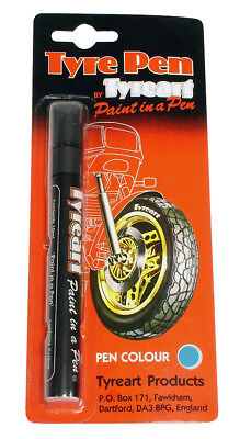 Oxford Motorcycle Motorbike Liquid Tyre Art Paint Marker Pen Blue TYPBL BC24619T