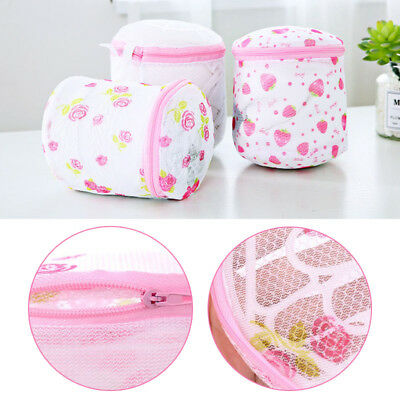 Laundry Net Bag Bra Wash Bag Wire Wesh Fine Mesh Printed Underwear Cleaning Bag