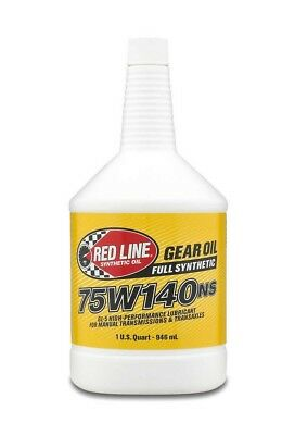 Redline Oil NS GL-5 Gear Lube 75W140 1 qt P/N 57104