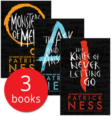 Chaos Walking Trilogy - 3 Books