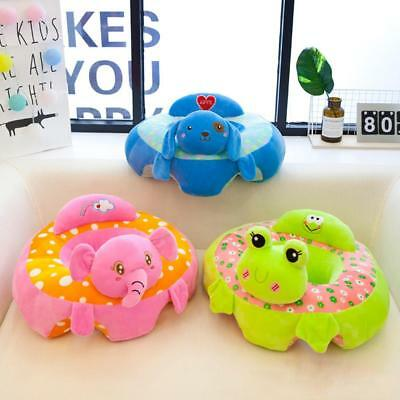 Cotton Baby Support Seat Soft Chair Car Cushion Sofa Plush Pillow Toys Gifts UK