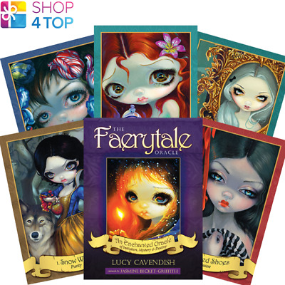 The Faerytale Oracle Deck Cards Esoteric Fortune Telling Blue Angel New