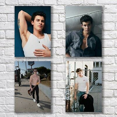 Shawn Mendes Poster A4 NEW Set Hot Guy #1