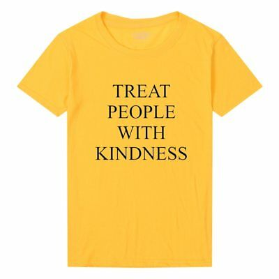 Harry Styles Treat People With Kindness Shirt Women Fashion Printed Tee Tops New