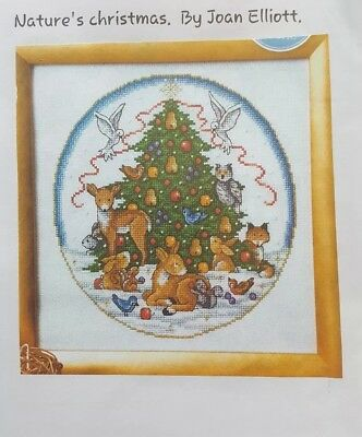 Cross Stitch Chart - JOAN ELLIOTT - NATURES CHRISTMAS