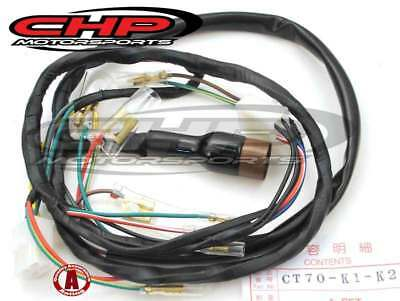 Wiring-Harness-for-the-Honda-CT70-K1-K2-CHP Ct Wiring Harness on fog light, standalone ls1, fuel pump, utility trailer, marine engine, universal painless, hot rod,