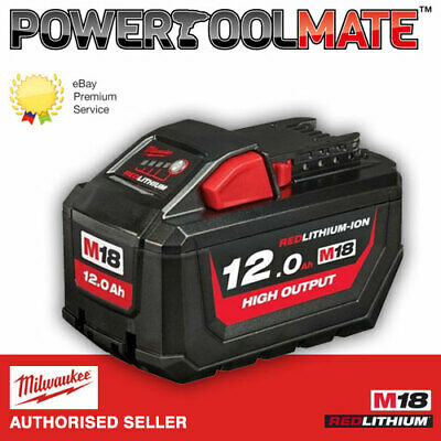 Milwaukee M18HB12 18v M18 12.0Ah Li-ion REDLITHIUM-ION High Output Battery