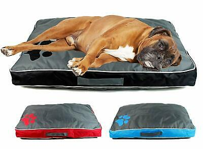 Luxury Waterproof Cat Dog Pet Bed Cushion Double Sided Mattress Washable Cover