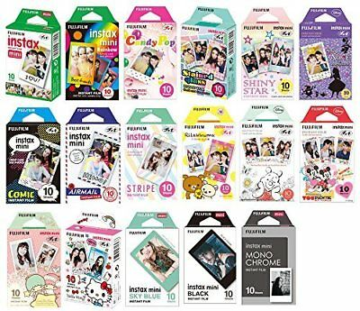 For Fujifilm Instax Mini 7s 8 9 25 50s 70 Film Camera Fuji Instant Photo Sheet