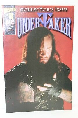 Undertaker #0 WWE WWF Wizard Photo Variant Chaos Comics Comic F-/F