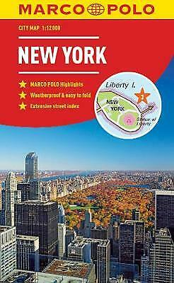New York Marco Polo City Map 2018 - pocket size, easy fold, N... - 9783829759175