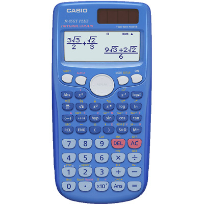 Casio FX-85GT Plus Scientific Calculator 260 Functions BLUE