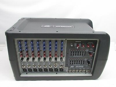peavey xr 8300 powered mixer 199 99 picclick rh picclick com Peavey Mixer Boards Peavey Service Manuals