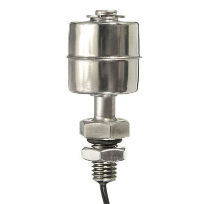 CN_ 45mm Indicator Vertical Water Level Sensor Stainless Steel Float Switch Re