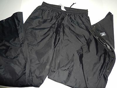 HELLY HANSEN PACKABLE Helly Black Water Wind Pants Men Size Small S