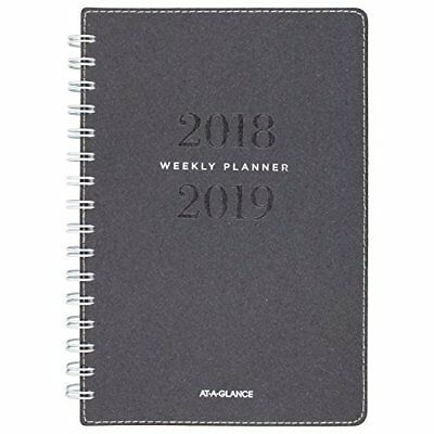 at a glance 2018 2019 academic year weekly monthly planner large 8