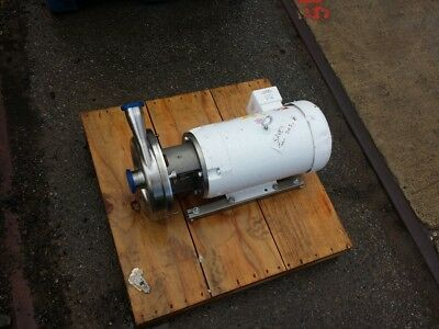 15 HP Stainless Steel Centrifugal Pump