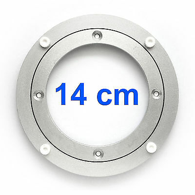 Slewing Ring Ø 140mm Aluminum Pivot Bearing Rotary Disc Turntable Lenkkranz