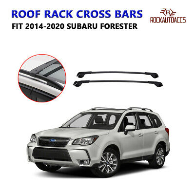 Rokiotoex  CROSS BAR CROSSBARS ROOF RACK FOR 2014-2018 SUBARU FORESTER OE STYLE