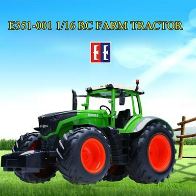 Original Double E E351-001 Remote Control 1/16 Farm Tractor RC Car J9I2