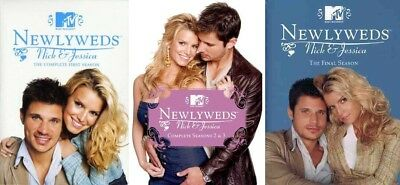 Newlyweds Nick & Jessica Simpson Complete TV Series Seasons 1-4 NEW DVD BUNDLE