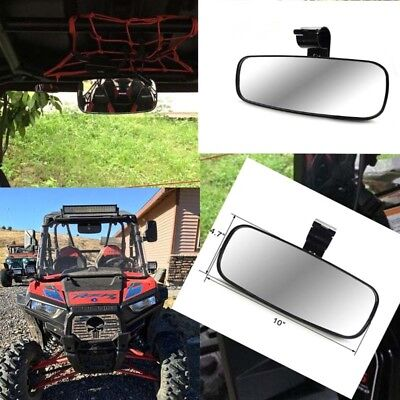 Large Adjustrable Wide Rear Clear View Center Mirror For UTV Off Road AU