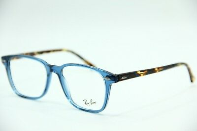 8e5490581f918 NEW RAY-BAN RB 7119 8024 Navy Eyeglasses Authentic Rx Rb7119 53-17 ...