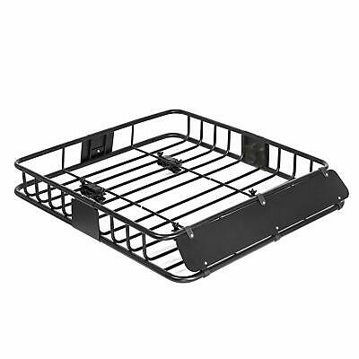"43"" Universal Black Roof Rack Cargo without Extension Car Top Luggage Holder ..."