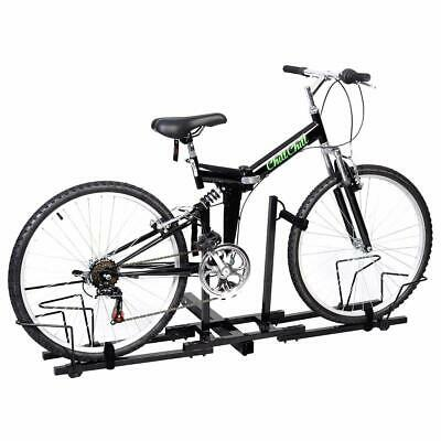 "Upright 2 Mountain Bike Rack Hitch Carrier 2"" Rear for SUV Van Truck Bike Rack"