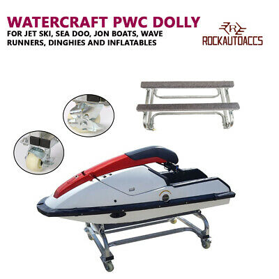 Watercraft PWC Dolly Boat Jet Ski Stand Storage Trailer Watercraft Cart 1000l...