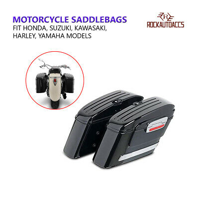 Motorcycle Saddlebags Sidecases, Customacces American (pair) 22l, 66 x 24 x 3...