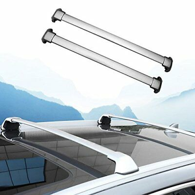 ROOF RACK CROSS BARS FOR HONDA CRV w/Factory Side Rails 2017 2018 Aluminum OE...