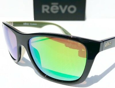 e691bd4c3a NEW  REVO OTIS Tortoise Green w POLARIZED Green Lens Sunglass 1001 02 GN