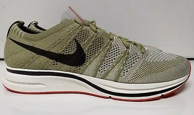 ad27b5d7ed42 Nike Flyknit Trainer Size 9 Neutral Olive Velvet Brown Men s Shoe AH8396-201