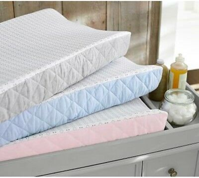 Pottery Barn Kids Changing Pad Cover Belgian Flax PINK