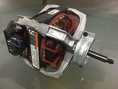 New OEM GE Washer/Dryer Combo MOTOR DRIVE AND PULLEY 27 NV WE49X27320