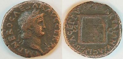 As 54-68 N. Chr. Antique /Roman Empire/ Nero Almost Ss