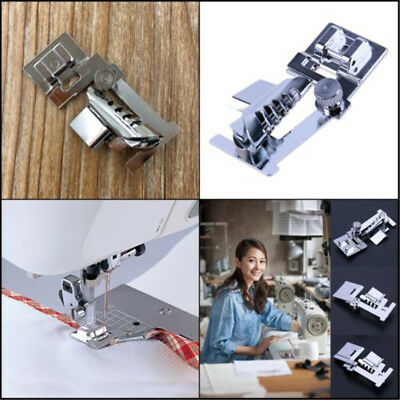 Rolled Hem Presser Foot Set for Singer Janome Sewing Domestic Machine Part*Tools