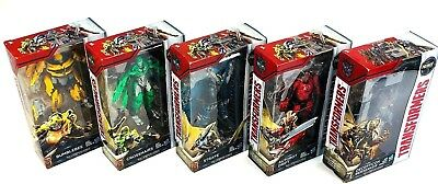 Transformers The Last Knight Premier Edition Lot of 5 Bumblebee Crosshairs Drift